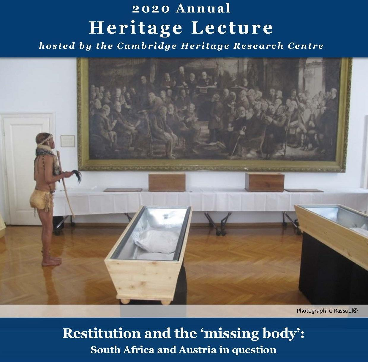 3rd Annual Heritage Lecture