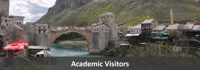 Academic Visitors Label